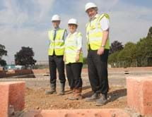 Waterloo and Deeleys residents on site at Regal Park