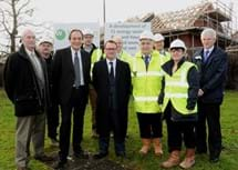 MP visits new development in Leamington