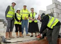 Councillors visit the North Thoresby site