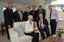 Councillors at our Stourport Road show home