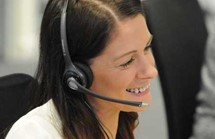Contact centre operator
